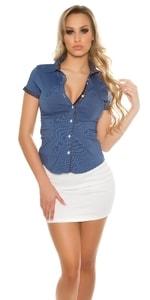 Modrá dámská košile in-tr1121tmo