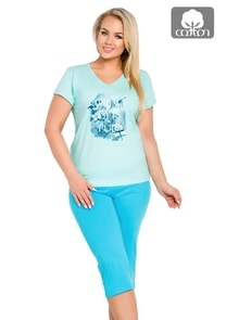 Dámské pyžamo nadměrné velikosti Wonderful