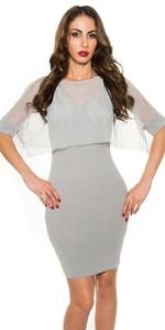 Dámské elegantní šaty in-sat1287gr