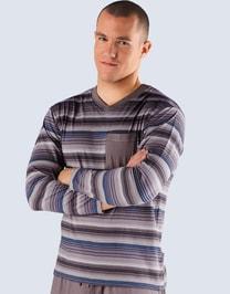 Pánské tričko s dlouhým rukávem pánské, dlouhý rukáv, 79403P