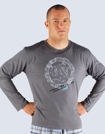 Pánské tričko s dlouhým rukávem pánské,pyžamo 79404P