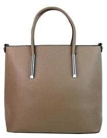 Velká elegantní kabelka YH-1625 hnědo-šedá
