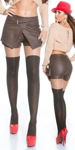 Dámská sukně s kraťasy in-ka1110br