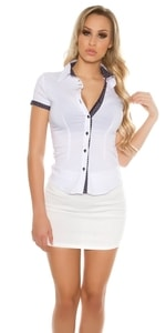 Bílá košile dámská in-tr1121wh