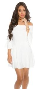 Společenské dámské šaty in-sat1525wh