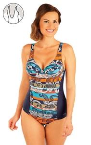 Jednodílné plavky s kosticemi. 93399