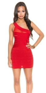 Dámské sexy mini šaty in-sat1350re