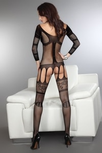 Bodystocking Corra black