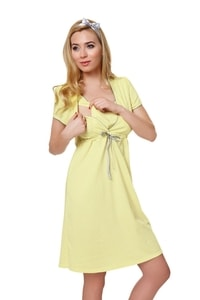 Dámská kojící košile Felicita yellow