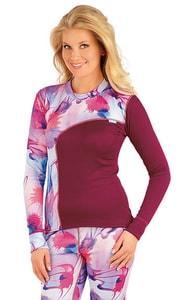 Termo triko dámské s dlouhým rukávem 87002