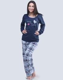 Dlouhé pyžamo pro ženy Time for love… eefb4989da