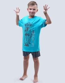 Krátké pyžamo pro kluky gepard 79052P