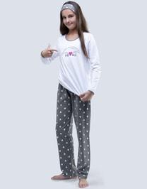 Dětské dlouhé pyžamo s potiskem 19059P