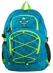 Velký batoh do města / do školy HL0911 aqua modrá