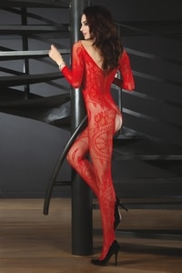 Bodystocking Zita red