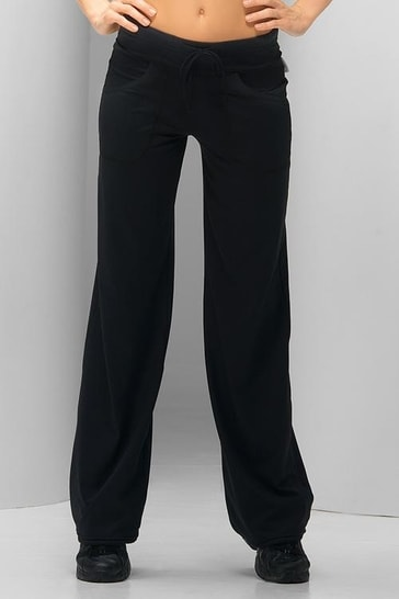 WINNER Fitnes kalhoty Anna - černá - L