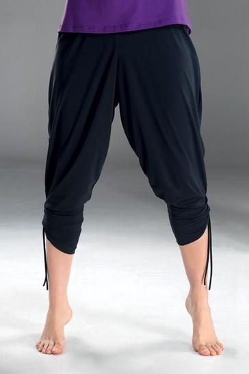 WINNER Fitnes kalhoty Fantasia - černá - M