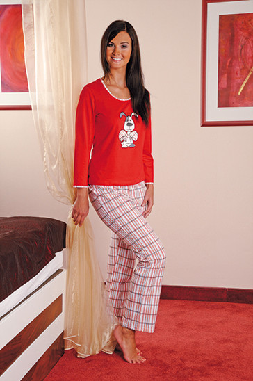 Andrie Dámské pyžamo PS 9175 - tyrkysová - S