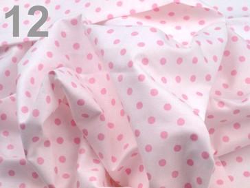 Stoklasa Bavlněný šátek 65x65 cm s puntíky - 12 White