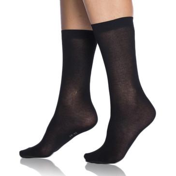 Bellinda Ponožky Light Uni Socks - černá - 39/42