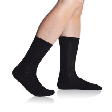 Bellinda Pánské ponožky Bambus Winter - béžový melír - 43/46