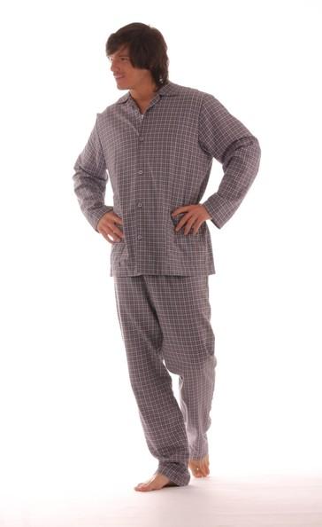 Vestis Pánské pyžamo Fred 68 01 kostka - dle obrázku - L