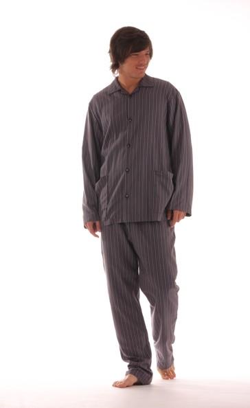 Vestis Pánské pyžamo Fred 68 01 pruh - dle obrázku - L