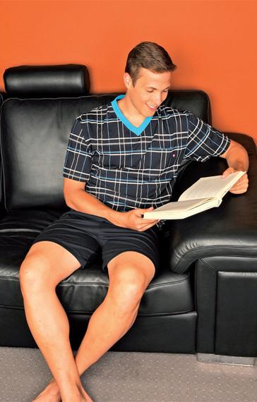 Andrie Pánské pyžamo PS 9186 - šedá - M