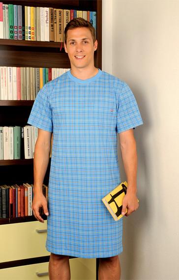 Andrie Pánská noční košile PS 9195 - šedá - M