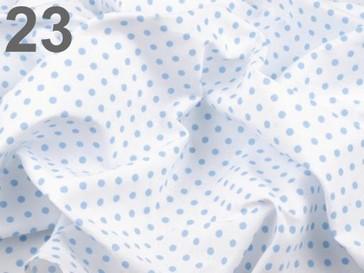 Stoklasa Bavlněný šátek 65x65 cm s puntíky - 23 modrá nebeská