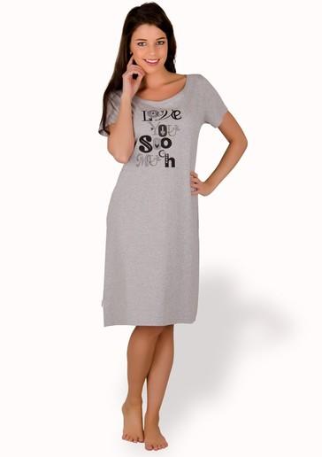 Taro Dámská košile nadměrné velikosti Luiza - 810/ šedá světlá - 3XL