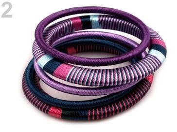 Stoklasa Sada náramků - 2 fialová lila