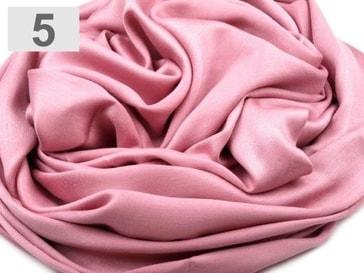 Stoklasa Pashmina jednobarevná 70x180 cm - 5 růžová sv.