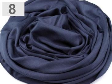 Stoklasa Pashmina jednobarevná 70x180 cm - 8 modrá hydro
