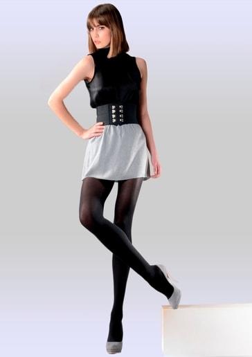 Gabriella Dámské punčochové kalhoty Micro 122 - 900/ černá (nero) - 4/L