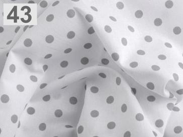 Stoklasa Bavlněný šátek 65x65 cm s puntíky - 43 šedá stř.