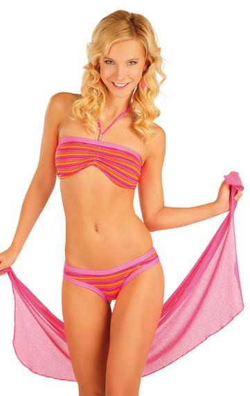 Litex Plážový šátek na zavazování 85533 - UNI / fialová