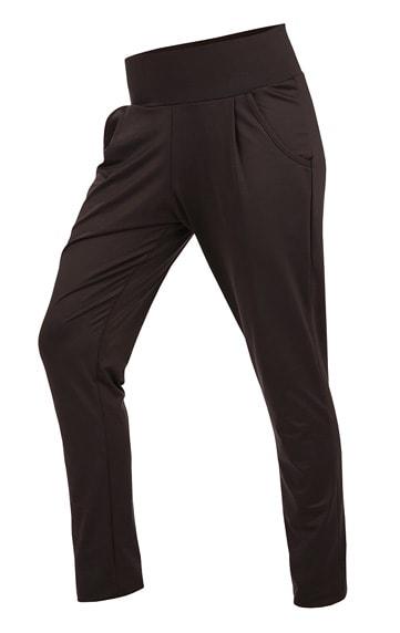 Litex Kalhoty dámské dlouhé s nízkým sedem 90178 - černá - XL