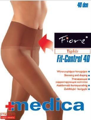 Fiore Zdravotní punčochy FIT-CONTROL 40 den - černá - vel.3