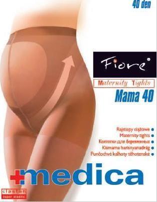 Fiore Zdravotní punčochy MAMA 40 den - černá - vel.2