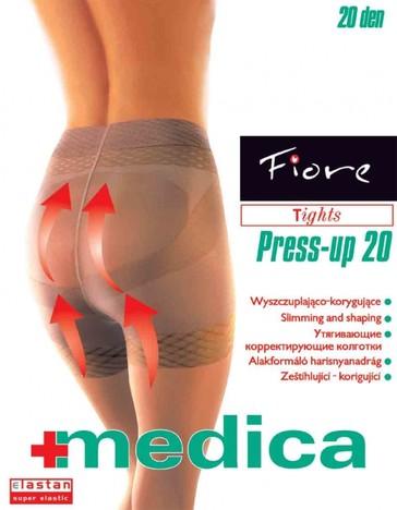 Fiore Zdravotní punčochy PRESS-UP 20 den - tělová - vel.3