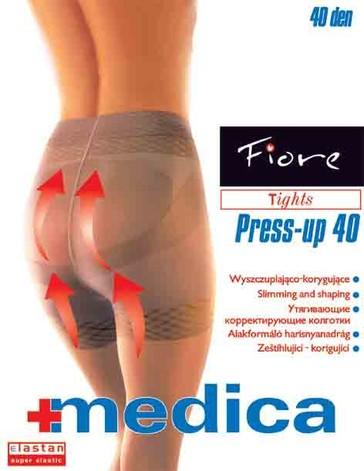 Fiore Zdravotní punčochy PRESS-UP 40 den - tělová - vel.2