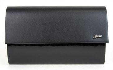 Luxusní černá dámská listová kabelka   psaní SP103 - Grosso - BEXIS.cz 063d17d3ca3