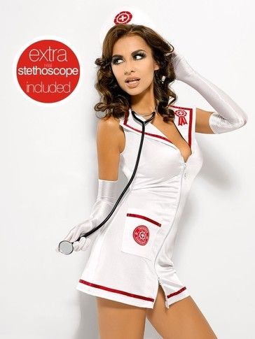 Výprodej Sexy kostým Emergency dress + stetoskop